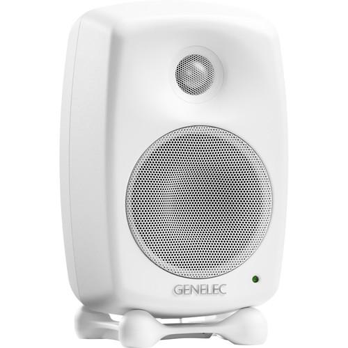 Genelec 8020D Studio Monitor (White Finish)
