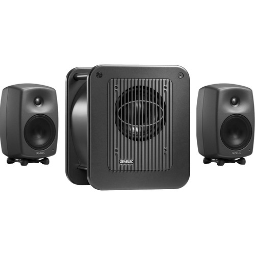 "Genelec 8030.LSE Triple Play 5"" Active 2.1 Monitoring System with 8"" Subwoofer"