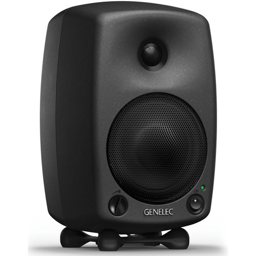 "Genelec 8030B Active Two-Way 5"" Studio Monitor (Single, Black)"