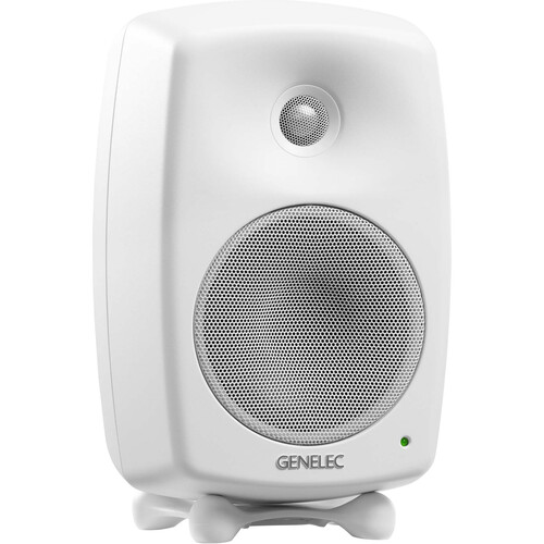 "Genelec 8030C 5"" 2-Way 100W Active Studio Monitor (Single, White)"