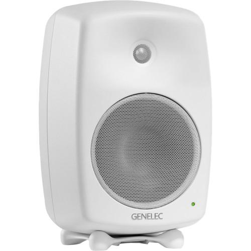 "Genelec 8040B 6.5"" 2-Way 180W Active Studio Monitor (Single, White)"