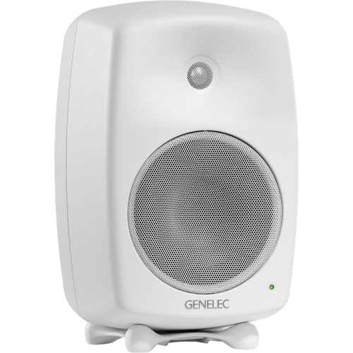 "Genelec 8040B 6.5"" 2-Way 180W Active Studio Monitor (Single, White)"