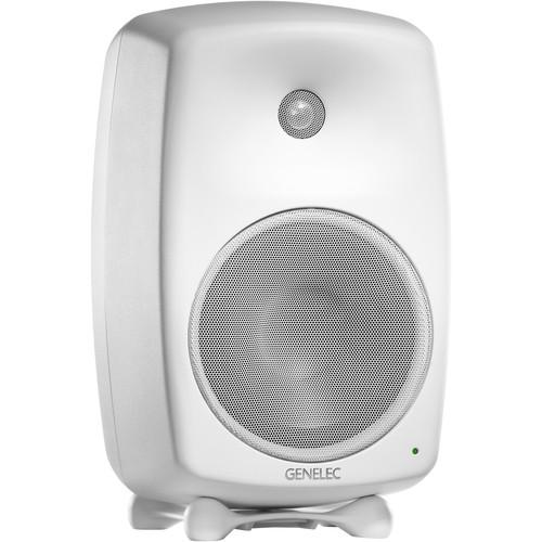 "Genelec 8050B 8"" 2-Way 270W Active Studio Monitor (Single, White)"