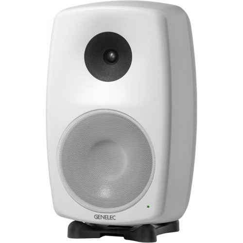 "Genelec 8260A SAM Series 10"" 3-Way 390W Active Studio Monitor (Single, White)"