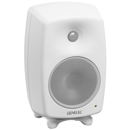 "Genelec 8320A SAM Series 4"" 2-Way 100W Active Studio Monitor (Single, White)"