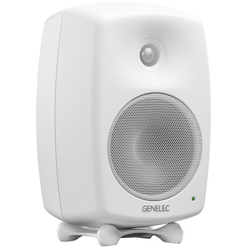 "Genelec 8330A SAM Series 5"" 2-Way 100W Active Studio Monitor (Single, White)"