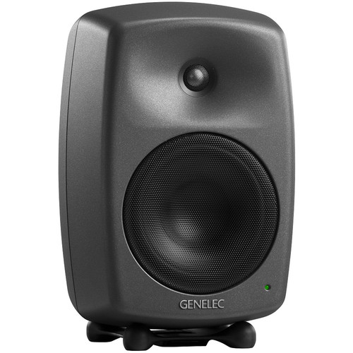 "Genelec 8340A 300W 6.5"" Active 2-Way DSP Monitor Speaker (Dark Gray)"