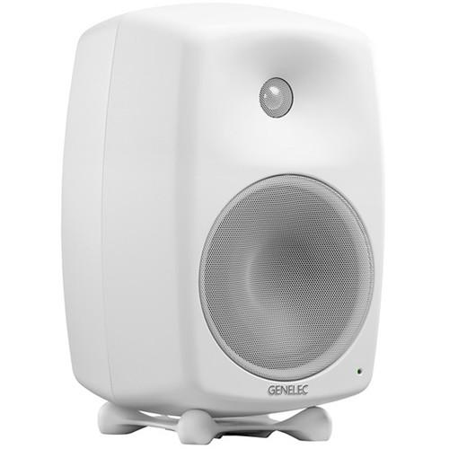 "Genelec 8350A SAM Series 8"" 2-Way 350W Active Studio Monitor (Single, White)"