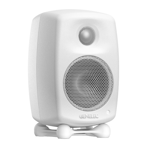 Genelec G One Two-Way Active Speaker (Single, White)