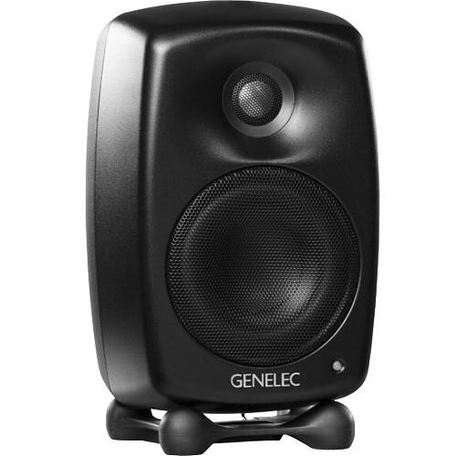 Genelec G Two 2-Way Active Speaker (Single, Mystic Black)