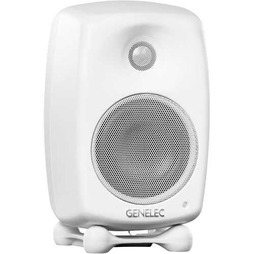 Genelec G Two 2-Way Active Speaker (Single, Polar White)