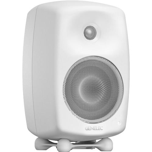 Genelec G Three 2-Way Powered Bookshelf Speaker (Polar White, Single)