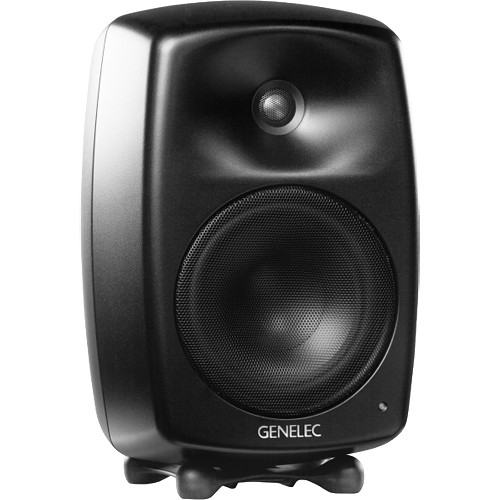 Genelec G Four 2-Way Powered Bookshelf Speaker (Black, Single)