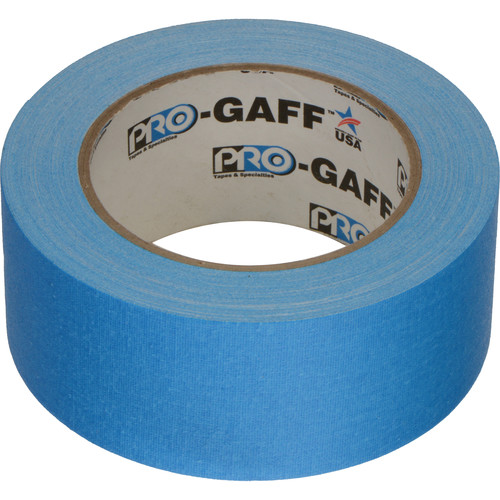 "ProTapes Pro Gaff Adhesive Tape (2"" x 25 yd, Fluorescent Blue)"