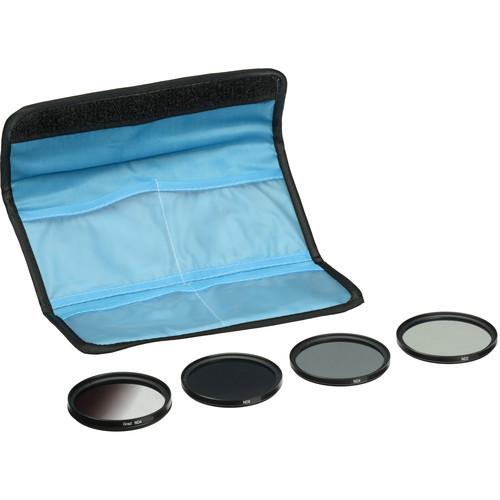 General Brand 40.5mm 5-Piece Neutral Density Filter Kit