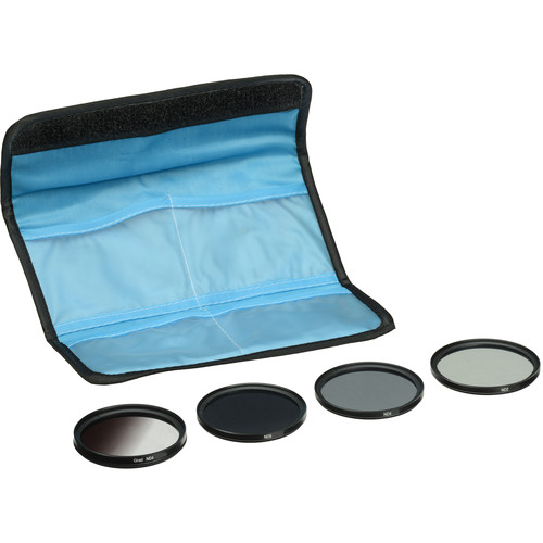 General Brand 77mm 5-Piece Neutral Density Filter Kit