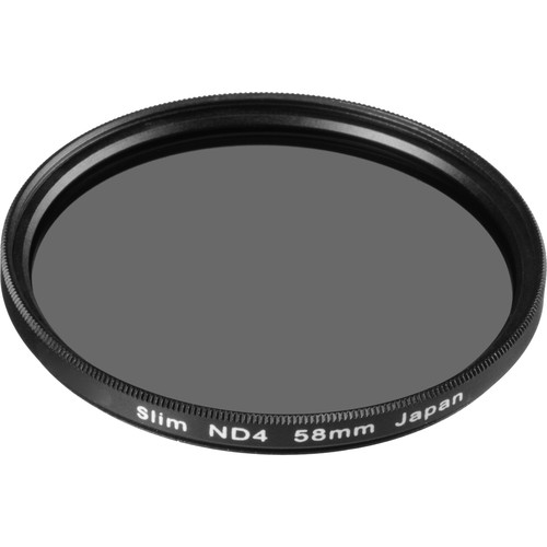 General Brand 58mm Solid Neutral Density 0.6 Filter (2 Stop)