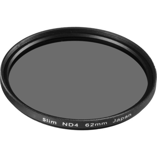 General Brand 62mm Solid Neutral Density 0.6 Filter (2 Stop)