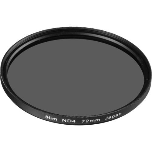General Brand 72mm Solid Neutral Density 0.6 Filter (2 Stop)