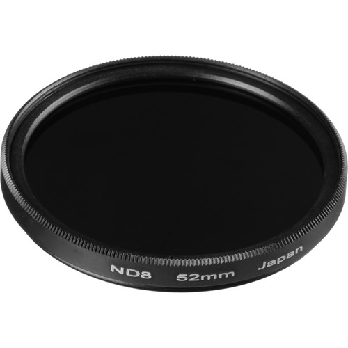 General Brand 52mm Solid Neutral Density 0.9 Filter (3 Stop)