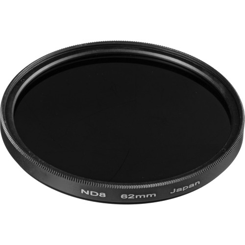 General Brand 62mm Solid Neutral Density 0.9 Filter (3 Stop)