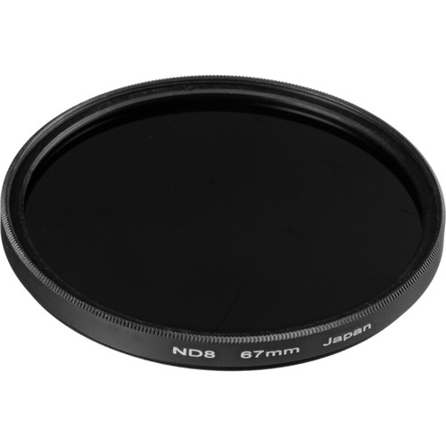 General Brand 67mm Solid Neutral Density 0.9 Filter (3 Stop)