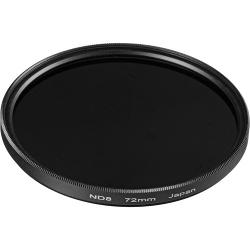 General Brand 72mm Solid Neutral Density 0.9 Filter (3 Stop)