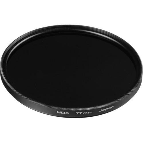 General Brand 77mm Solid Neutral Density 0.9 Filter (3 Stop)