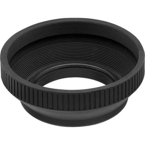 General Brand 58mm Collapsible Rubber Lens Hood