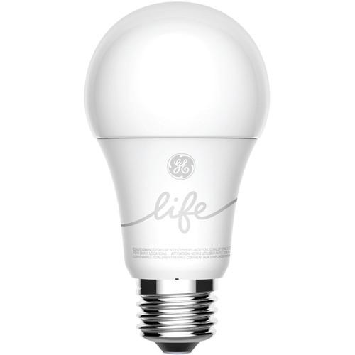 General Electric C-Life A19 Smart LED Light Bulb (Soft White, 2-Pack)