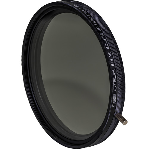 Genustech 77mm Solar Eclipse Variable Neutral Density and Circular Polarizer Filter