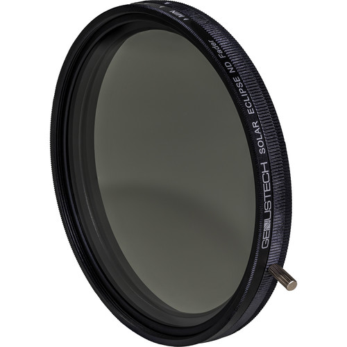Genustech 82mm Solar Eclipse Variable Neutral Density and Circular Polarizer Filter