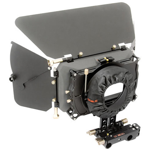 Genustech PV Basic Matte Box Kit with Top Flag, Side Flags and Swing Away Bracket