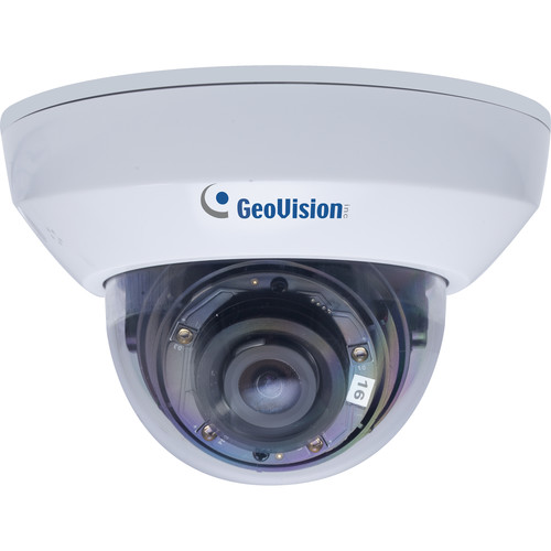 GEOVISION GV-MFD2700-0F 2MP Network Mini Dome Camera with Night Vision & 2.8mm Lens