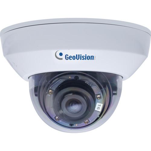 GEOVISION GV-MFD2700-2F 2MP Network Mini Dome Camera with Night Vision & 3.8mm Lens