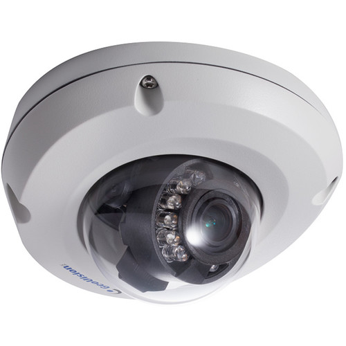 GEOVISION GV-EDR1100 Series 1.3MPVandal-Resistant Outdoor Dome Camera with 3.8mm Lens and Night Vision
