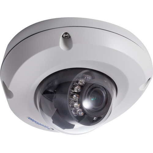 GEOVISION GV-EDR2700-0F 2MP Outdoor Network Mini Dome Camera with Night Vision & 2.8mm Lens