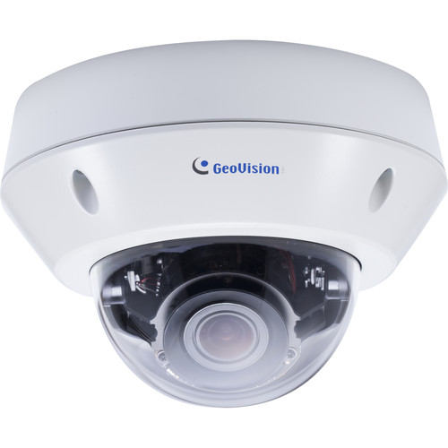 GEOVISION GV-VD2702 2MP H.265 Super Low Lux WDR Pro IR Vandal Proof IP Dome Camera with 2.8-12mm Lens