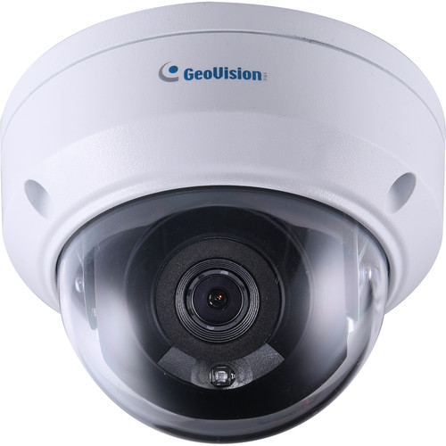 GEOVISION GV-ADR4701 4MP Outdoor Network Mini Dome Camera with Night Vision