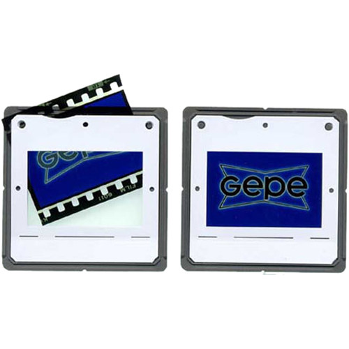Gepe 24 x 36mm CS System Hinged Slide Mounts for 35mm Film (200 Mounts)