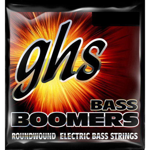 GHS 3040 Regular Medium Scale Bass Boomers Roundwound Electric Bass Strings (4-String Set, 45 - 105)