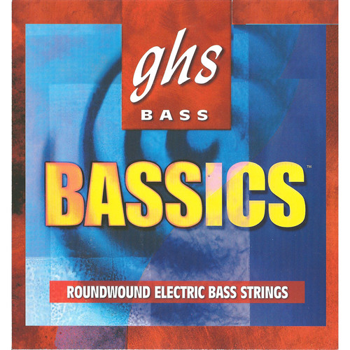 GHS BAS130 Bassics roundwound Electric Bass String (Single String, Regular Long Scale, .130)