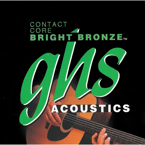 GHS Contact Core Bright Bronze Acoustic Guitar String (Single String, .054)