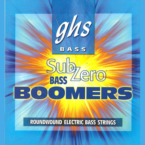 GHS CR-DYB105 Sub-Zero Bass Boomers Roundwound Electric Bass String (Single String, Extra Long Scale, .105)