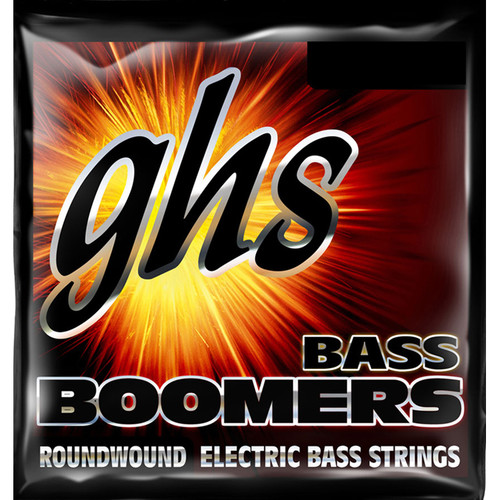 GHS DYB105X Bass Boomers Roundwound Electric Bass String (Single String, Extra Long Scale, .105)