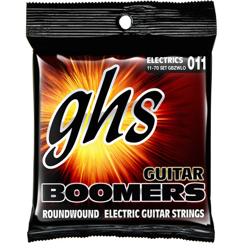 ghs gbzwlow boomers heavyweight low tuned electric guitar gbzwlo. Black Bedroom Furniture Sets. Home Design Ideas
