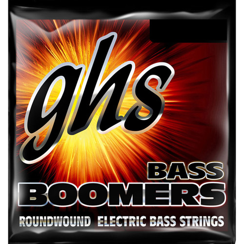 GHS H3045 Heavy Bass Boomers Roundwound Electric Bass Strings (4-String Set, Long Scale, 50 - 115)