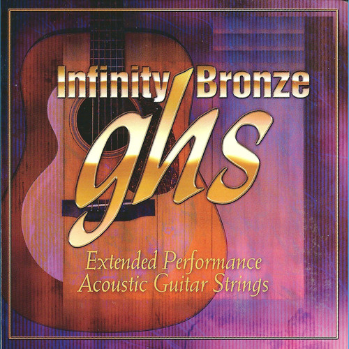 GHS IB38 Infinity Bronze Acoustic Guitar String (Single, .038)