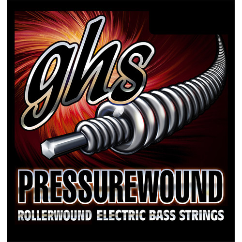 GHS PWB84 Pressurewound Rollerwound Electric Bass Strings (Single String, Universal Long Scale, .084)