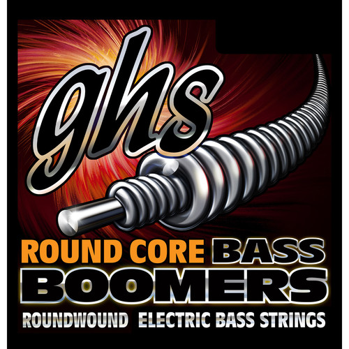 GHS RC-DYB105 Round Core Bass Boomers Roundwound Electric Bass String (Single String, Universal Long Scale, .105)